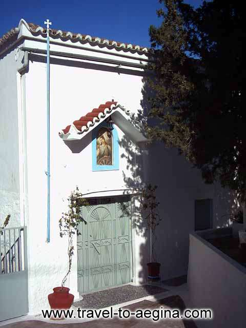 AEGINA PHOTO GALLERY - AGIA AIKATERINI MONASTERY