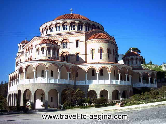 AEGINA PHOTO GALLERY - Agios Nektarios