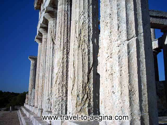 AEGINA PHOTO GALLERY - Temple of Athena Afaia