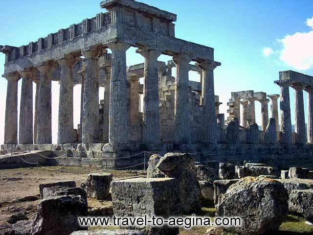 Travel to Aegina Photo Gallery  -  Temple of Athena Afaia