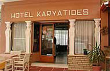 KARYATIDES HOTEL  HOTELS IN  AGIA MARINA