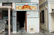 Aegina Island Holidays  TRAVEL AGENCY IN  L. Dimokratias 47